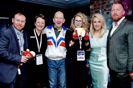 Eddie 'The Eagle' Edwards was guest of honour at Altitude London
