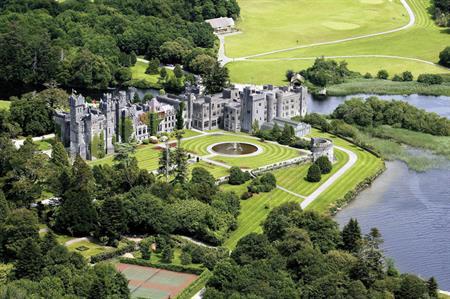 Ashford Castle in County Mayo