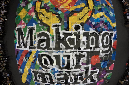 Fundraising art project wins Team-building Event of the Year