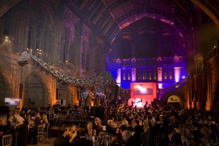 Last year's C&IT Awards at the Natural History Museum