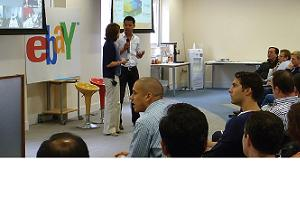 Ebay uses a hybrid meetings strategy for its European Team Brief