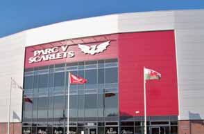 Parc y Scarlets to host corporates at celebration event