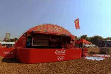 Coca-Cola was a new client for Line Up