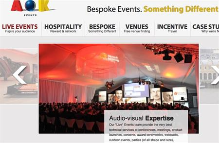 AOK Events sees profits and turnover up in 2012