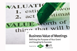 MPI's Business Value of Meetings report launches at AIBTM