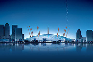 The O2 Arena in London