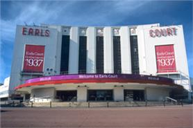 Earls Court planning events in September 2012