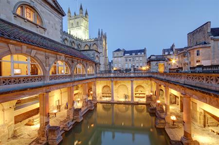 The Roman Baths in Bath (Image credit: iStock)