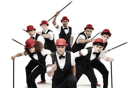 Street dance troupe Diversity from Britain's Got Talent
