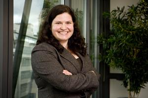 Davis Langdon's events manager Sharon Madden