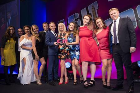 The 2017 C&IT Awards, hosted by comedian (and former event professional) Rob Beckett