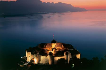 Chateau de Chillon, Lausanne, Switzerland
