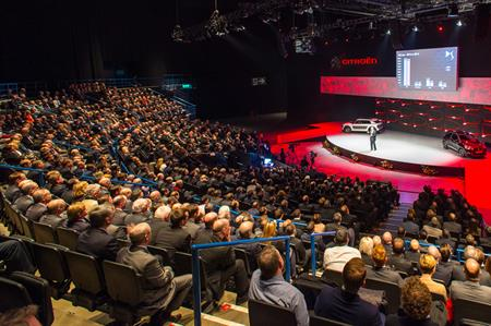 Citroën National Dealer Conference 2015 took place at the Barclaycard Arena, Birmingham