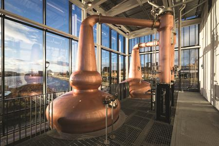 Whisky Business - distilleries with event and conference space