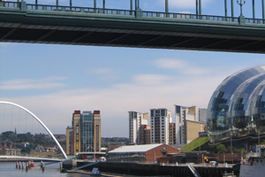 Newcastle Gateshead to benefit from £105m investment
