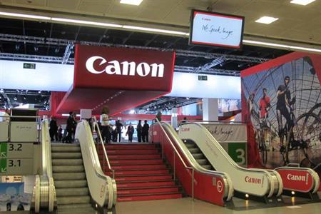 Imagination has worked with Canon to produce its presence at Photokina 2012