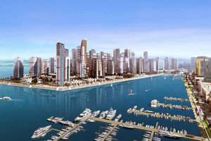 Dubai: site for one of the planned 29 new offices