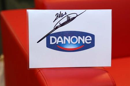 Zidane's signature following his involvement in a previous Danone Nations Cup