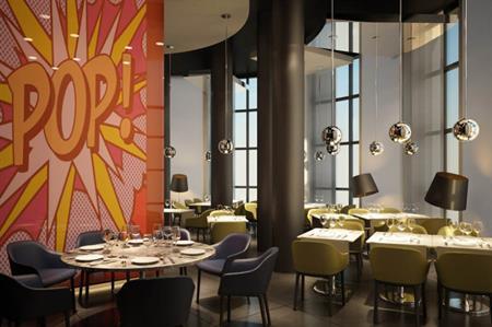 The Lichtenstein Restaurant at the new Dolina 960 hotel in Sochi