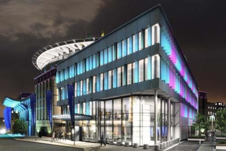 Edinburgh International Conference Centre's new expansion