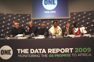 Bill Gates and Bob Geldof among One charity launch panellists