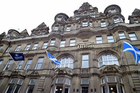 Hilton Edinburgh Carlton opens after £17m refurbishment