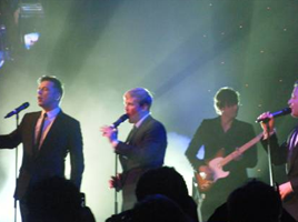 Westlife launch Convention Centre Dublin