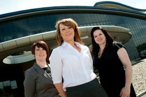 Ria Sleigh, Jen Martin, Victoria Withy-Drysdale