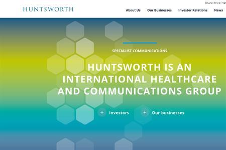 Huntsworth's website