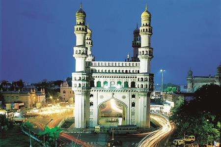 Hyderabad, current capital of India's Andhra Pradesh state