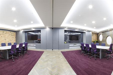 The ICC Capital Lounge Rooms consists of six executive boardrooms with a private entrance