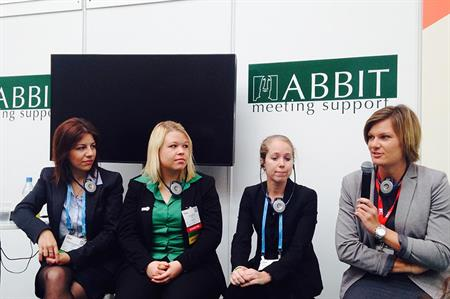 IMEX 2015 panel session on engaging millennials in meetings