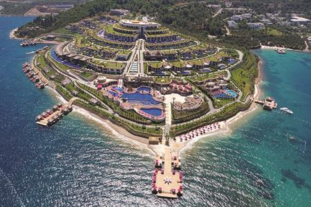 Jumeirah Bodrum Palace hotel, Turkey