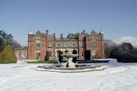 Grade II-listed Keele Hall
