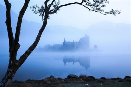Kilchurn Castle - reflecting VisitScotland's spooky-themed London event (copyright Dollar Photo Club)