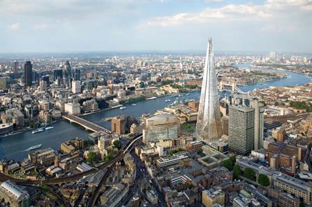 London has achieved a top-five position on ICCA's rankings