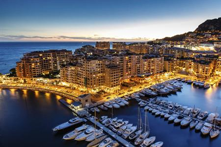 Monaco Harbour, South of France