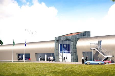 Heritage Motor Centre's new £4m Museum Collection Centre