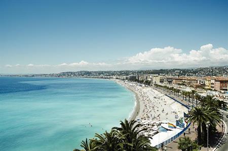 Nice's Promenade des Anglais, scene of last week's terror attack