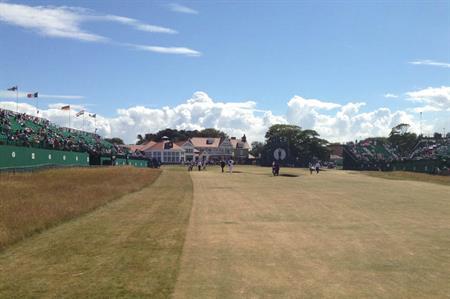 Open Championship golf, Muirfield 2013