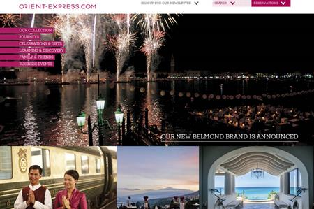 Orient-Express Hotels to rebrand its hotels and services as Belmond