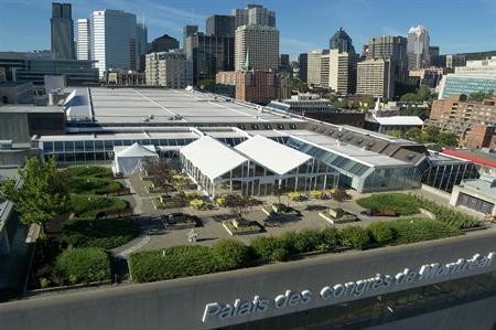 Palais des congres: partnership to attract events