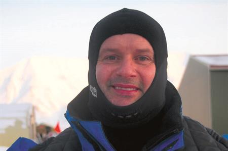 Google has appointed BCD M&I's Paul Levien, pictured here on a trip to Svalbard, Norway earlier this year