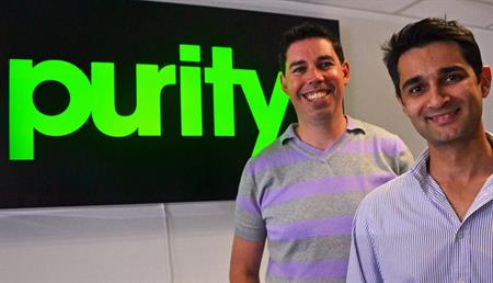 L-R: Purity's Rob Quinn and Baqer Keshwani