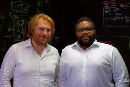 Ru Barfsfield, CEO, and Gavin Williams, chief technology officer at Fat Unicorn