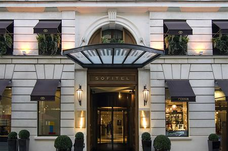 Sofitel Le Fauberg hotel, Paris