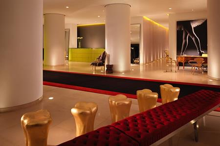 St Martins Lane hotel, London