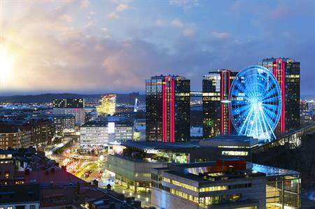 Gothia Towers, Swedish Exhibition & Congress Centre, Gothenburg