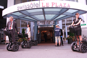 Swissotel: Segway city tours