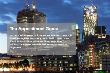 The Appointment Group's website